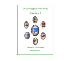 Christmas Spool Ornaments Collection 5