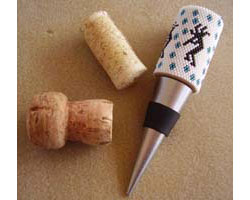Kokopelli Wine Stopper Cover