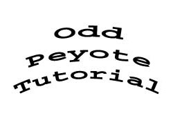 Odd Peyote Tutorial