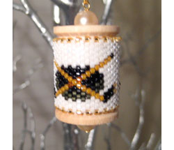 Hockey Spool Ornament
