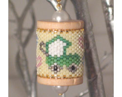 Baby Carriage Spool Ornament