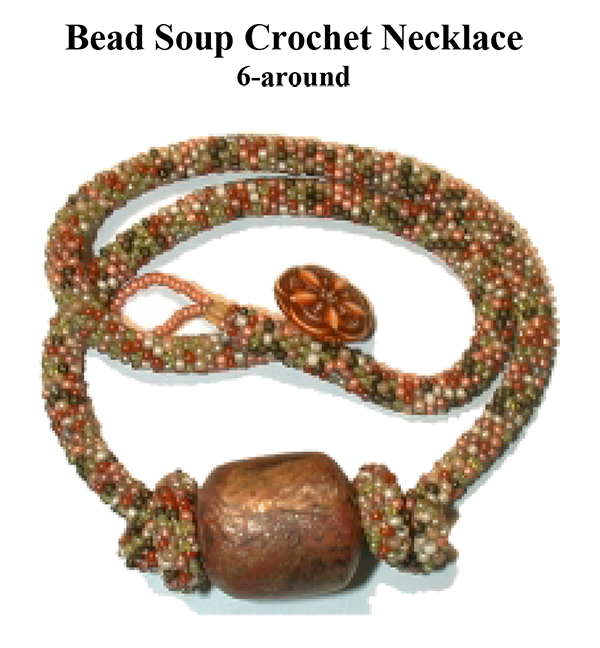 Bead Crochet Bead Soup Necklace