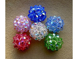 "Beaded Crystal ""Ball"" Pattern"