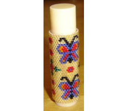 Butterfly Lip Balm Cover