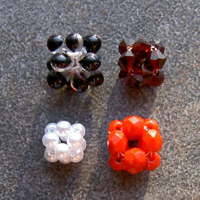 12-Bead Crystal Bead Ball