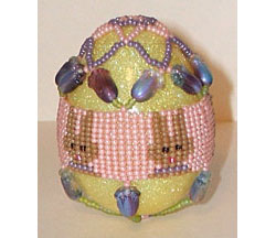 Herringbone Bunny Egg Cover