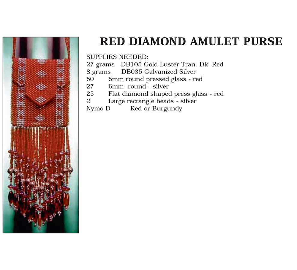 Red Diamond Amulet Purse
