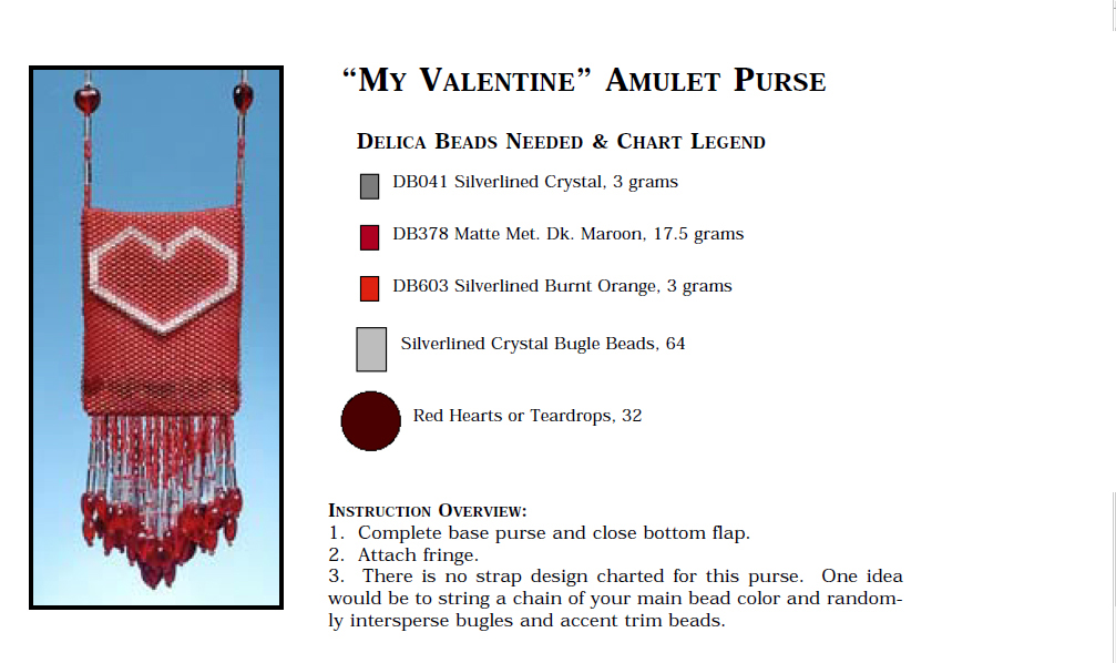 My Valentine Amulet Purse