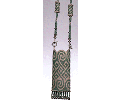 Celtic Green Amulet Purse