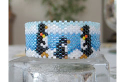 Penguins Tea Light Cover