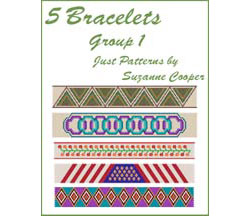 5 BRACELETS - PEYOTE Group 1