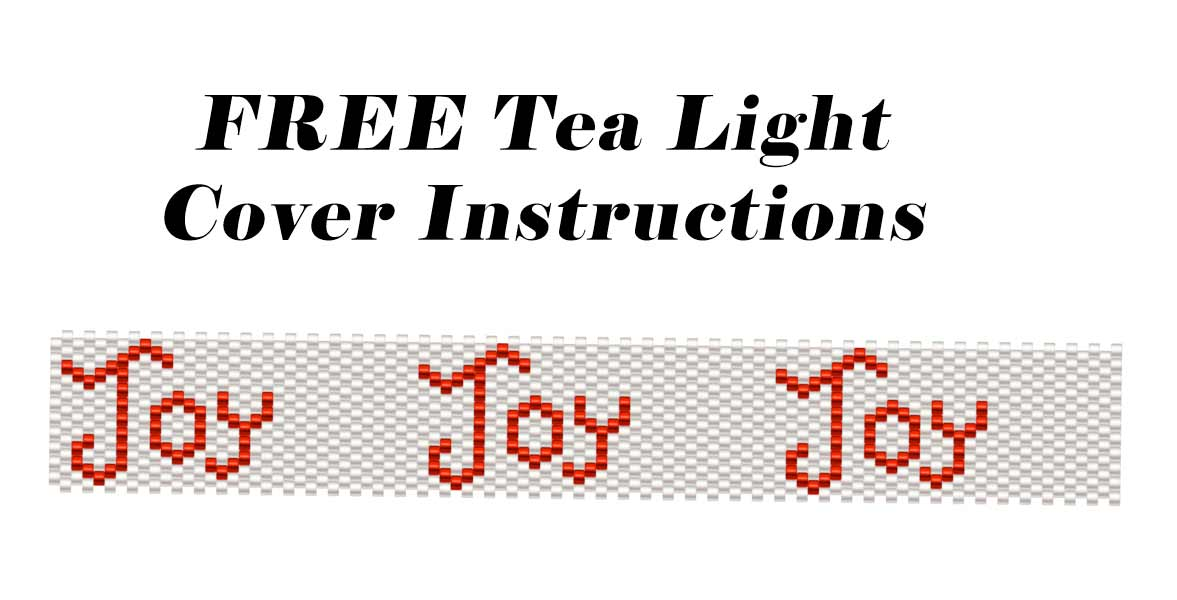 FREE Tea Light Cover Instructions