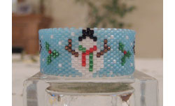 Snowmen Tea Light Cover