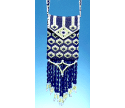 Blue Bird Amulet Purse