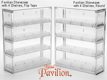Bead Pavilion - Showcase ONLY (No Shelves)