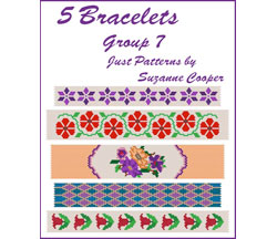 5 BRACELETS - PEYOTE Group 7