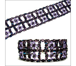 Crystal Windows Cuff
