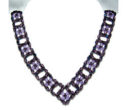 Crystal Windows Necklace