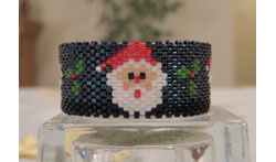 Santa Tea Light Cover