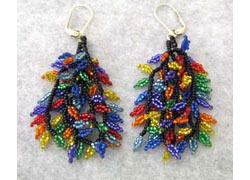 Rainbow Leaves Earrings