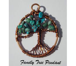 Family Tree Pendant