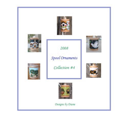 2008 Spool Ornament Collection 4