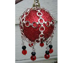 Medieval Christmas Ornament Cover