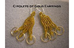 Circlets of Gold Earrings