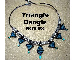 Triangle Dangle Necklace