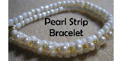 Pearl Strip Bracelet