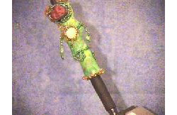 Beaded Art Doll Pen