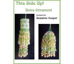 This Side Up! Ornament - Bows