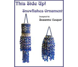 This Side Up! Ornament - Snowflakes