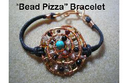 Bead Pizza Bracelet
