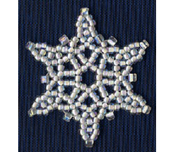 Mini Snowflake #3 Ornament