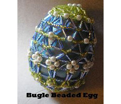 Bugle Beaded Egg