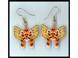 Tiger Angel Earring