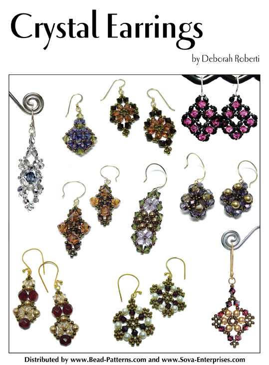 Crystal Earrings E-Book
