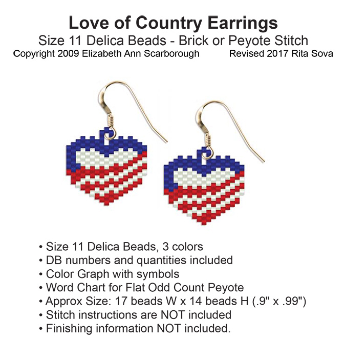 Love of Country Earrings