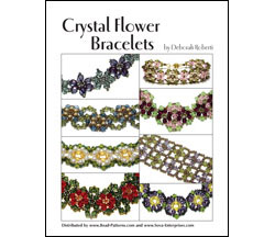 Crystal Flower Bracelets E-Book