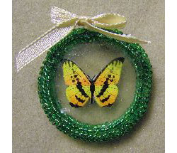 Springtime Butterfly Ornament