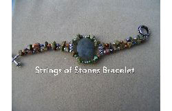 Strings of Stones Bracelet