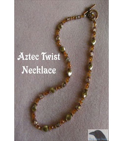Aztec Twist Necklace
