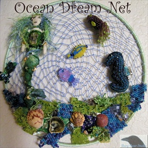 Ocean Dream Net Wall Hanging