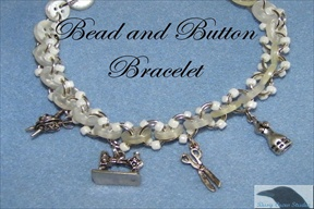 Bead and Button Bracelete