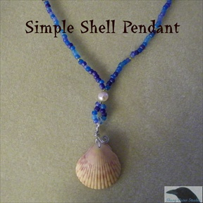 Simple Seashell Pendant