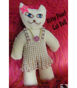 Kitty Pearl Cat Doll