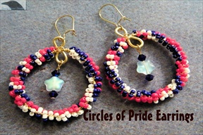 Circles of Pride Earrings