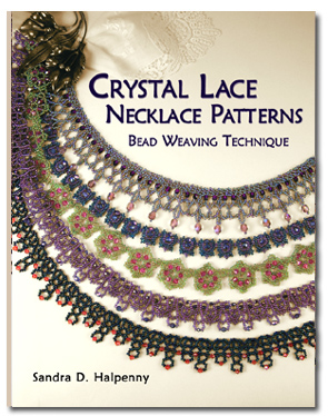 Crystal Lace Necklace Patterns (Book) - Imperfect