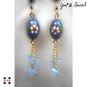 Karner Blue Earrings #391